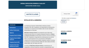 Diseño web IMQ Ibérica